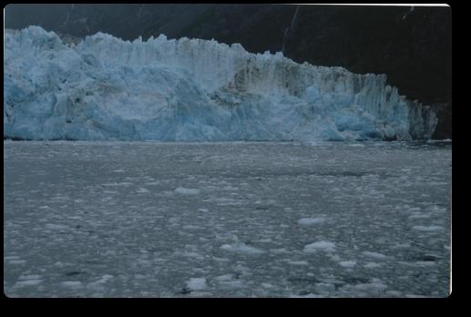 アラスカの氷山