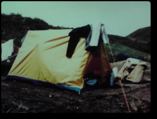 片桐のテント